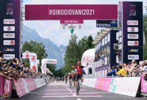Tappa 9: Cavalese   Val di Fiemme – Nevegal, la spunta lo svizzero Yannis Voisard (Swiss Racing Academy)